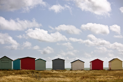 Cabanes de plage - ©angies